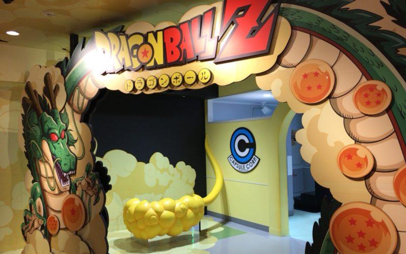J-WORLD TOKYOのドラゴンボールエリアの入口
