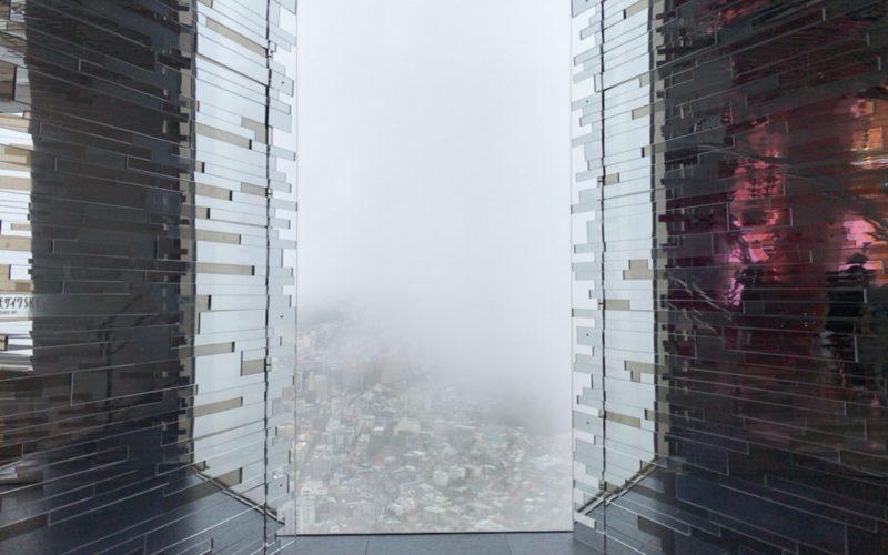スカイサーカス サンシャイン60展望台のカレイドスケープエリアにあるモザイクSKY