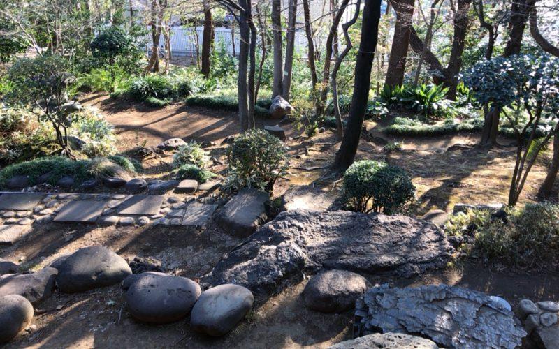 旧朝倉家住宅の庭園