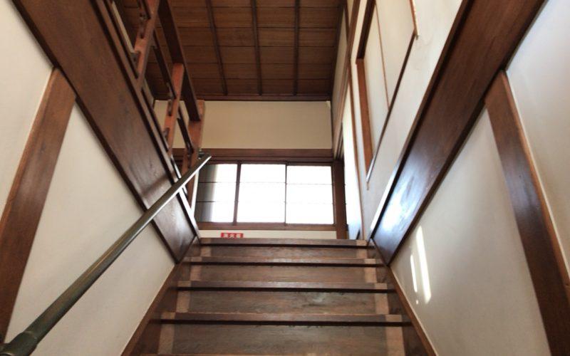 旧朝倉家住宅の階段