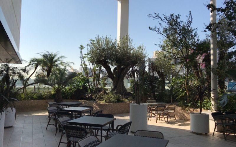 アトレ恵比寿西館屋上のアトレ空中花園