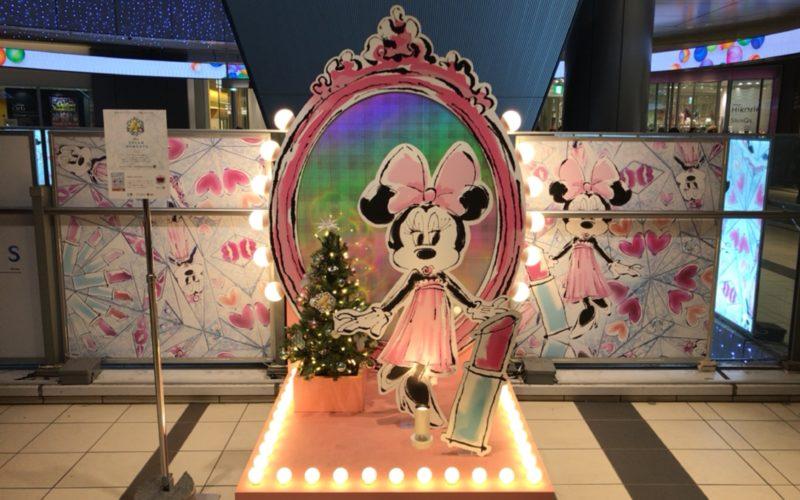 渋谷ヒカリエ2Fのエントランス前に設置していた渋谷ヒカリエクリスマスのフォトスポット