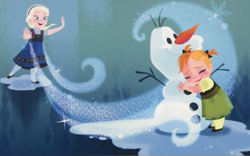 企画展 ディズニー・アート展 いのちを吹き込む魔法のアナと雪の女王のビジュアル