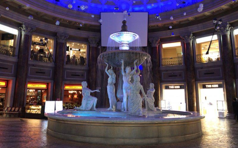 ヴィーナスフォートの噴水広場で行われていた「噴水広場ショー MELTING STORY」