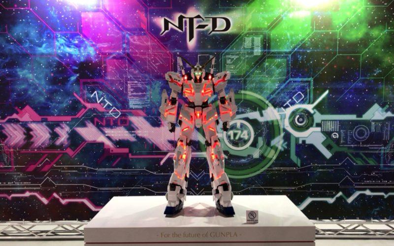 お台場ダイバーシティのガンダムベース東京で開催した「機動戦士ガンダムUC(ユニコーン)ワールド」に展示していた1/20スケールのユニコーンガンダム
