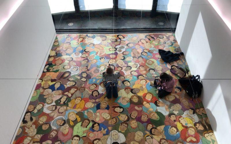 森美術館で開催されたN・S・ハルシャ展に展示されていたインスタレーション