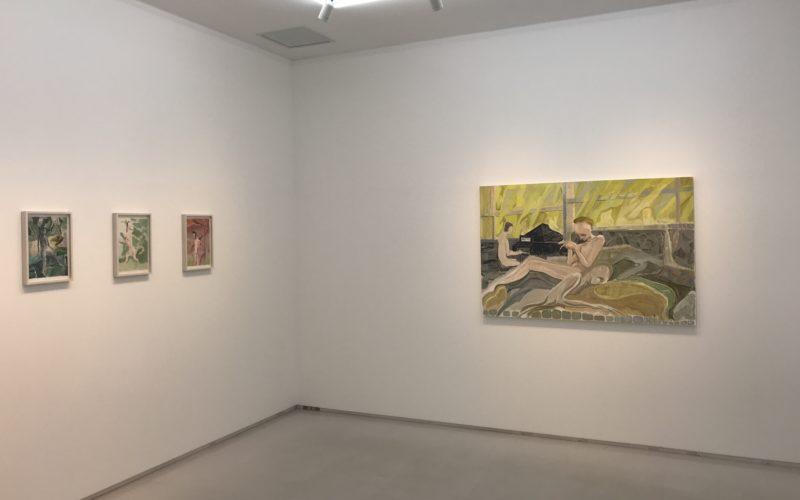 渋谷ヒカリエ8Fの小山登美夫ギャラリーで開催していた「国川広 展 未分のレポート」の展示作品