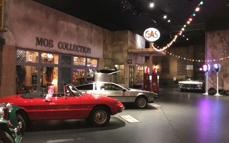 ヒストリーガレージの2Fにあるヒストリックカーコレクション