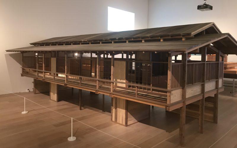 六本木ヒルズの森美術館で開催した建築の日本展に展示していた丹下健三さんの自邸