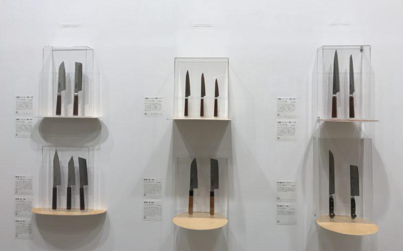 コレド室町1の1Fにある日本橋木屋本店で開催された「龍泉刃物 誕生70周年記念フェア 切れ味の新世界2」の会場内