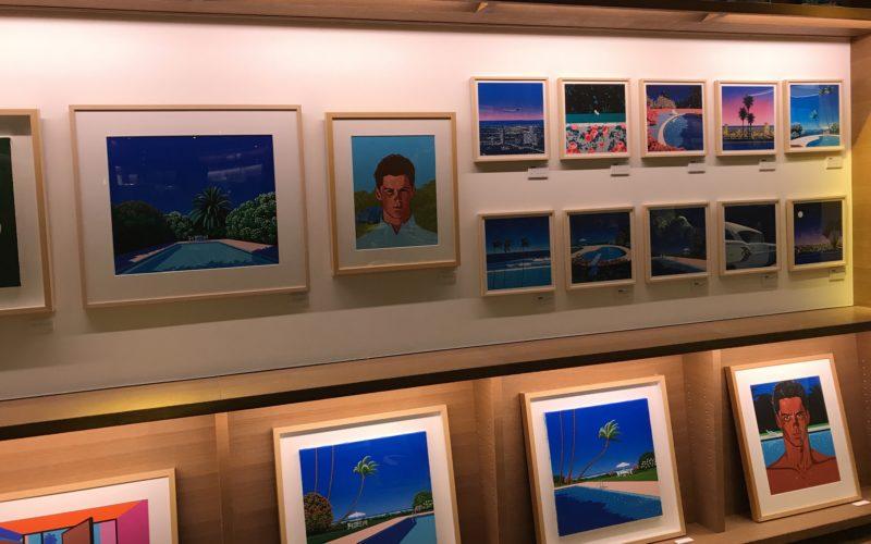 代官山蔦屋書店で開催した「late summer, long Sunset」の展示作品