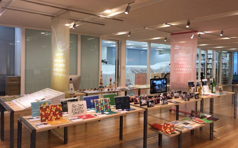 東京ミッドタウン・デザインハブで開催した地域×デザインの会場内