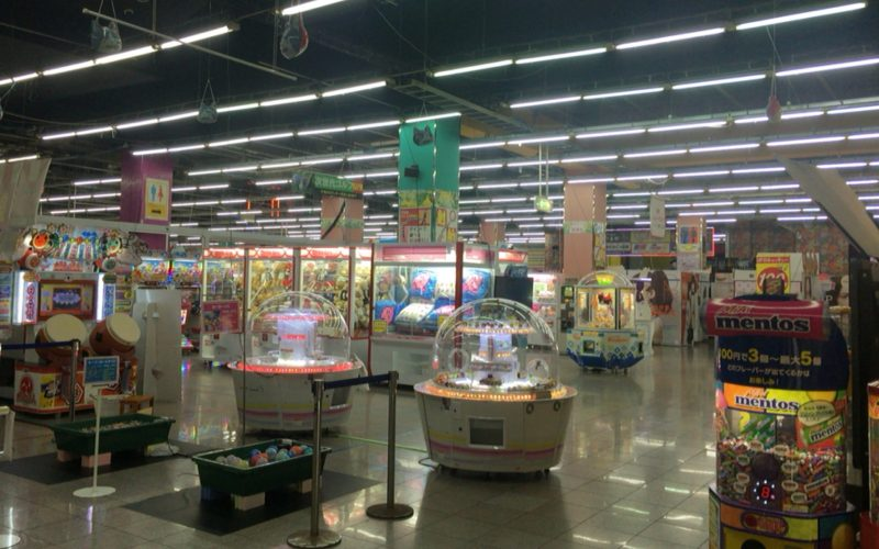 東京レジャーランドの3Fにあったゲームコーナー