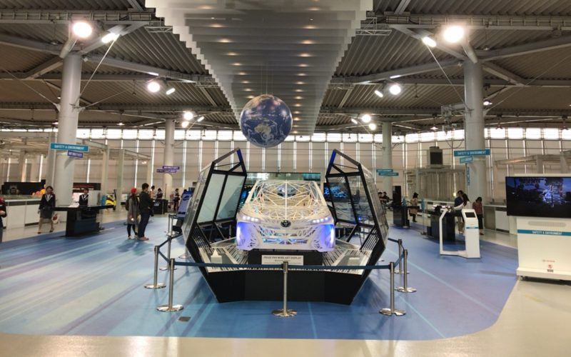 トヨタ シティショウケース2Fのグローバル ディスカバリー ゾーン