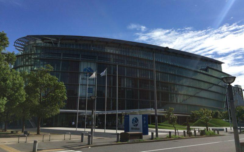 日本科学未来館の建物