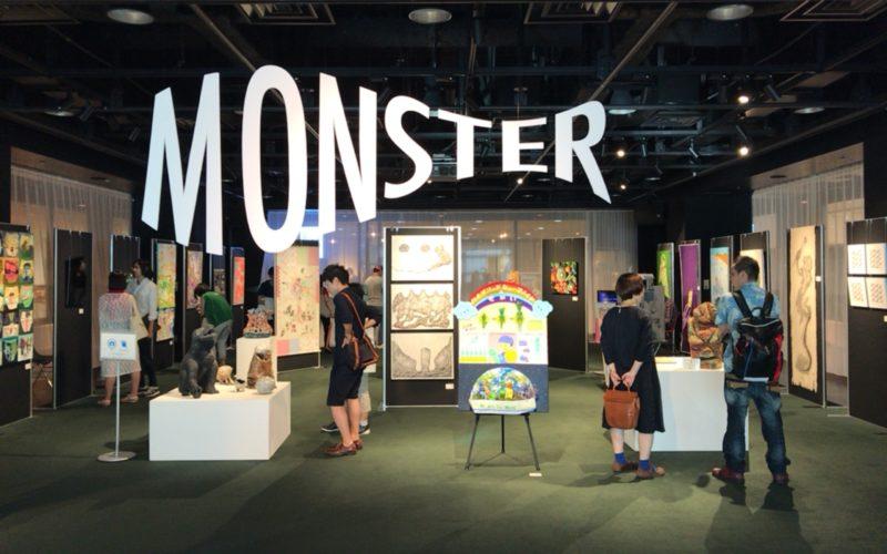 渋谷ヒカリエ8FのCOURTで開催したMONSTER Exhibitionの会場内
