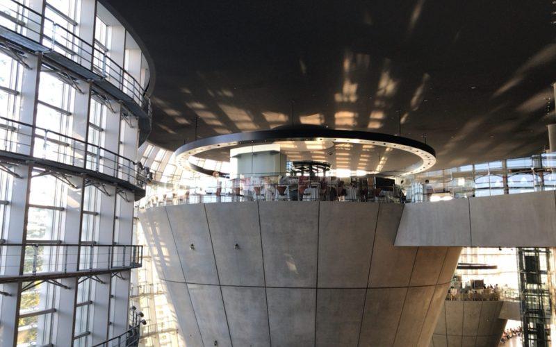国立新美術館3Fにあるブラッスリー ポール・ボキューズ ミュゼの外観