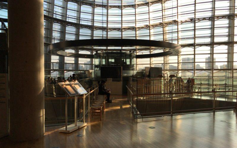 国立新美術館の2Fにあるサロン・ド・テ ロンドの入口
