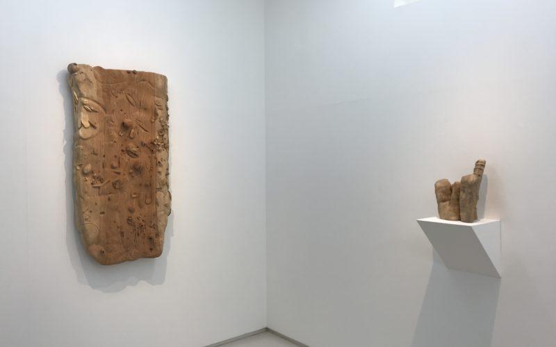 小山登美夫ギャラリーで開催した西太志+矢野洋輔展「居心地の良さの棘」に展示していた矢野洋輔さんの作品