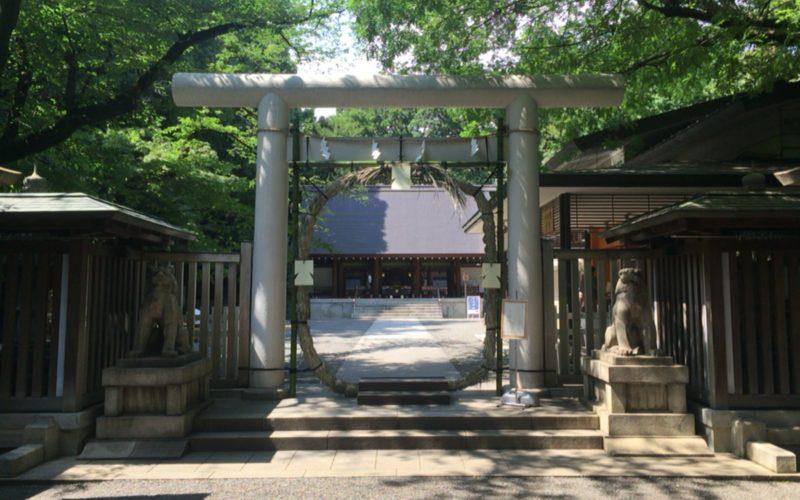 乃木神社の年間行事「夏越しの大祓い 茅の輪くぐり」