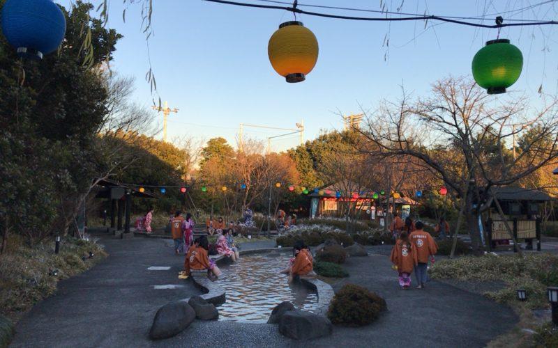 大江戸温泉物語お台場の足湯