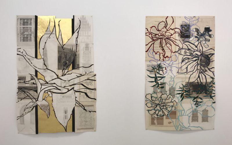 渋谷ヒカリエ8Fの小山登美夫ギャラリーで開催した「ロバート・クシュナー展 未知の霧の中へ」の展示作品
