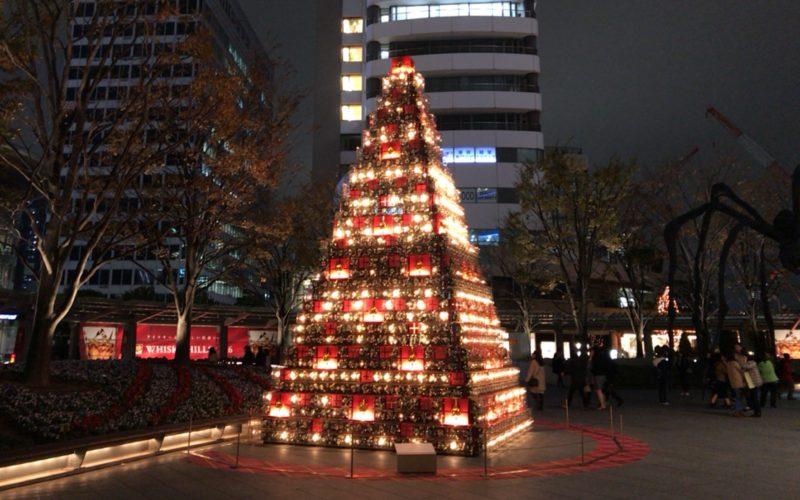六本木ヒルズ アーテリジェントクリスマス2016の66プラザイルミネーション