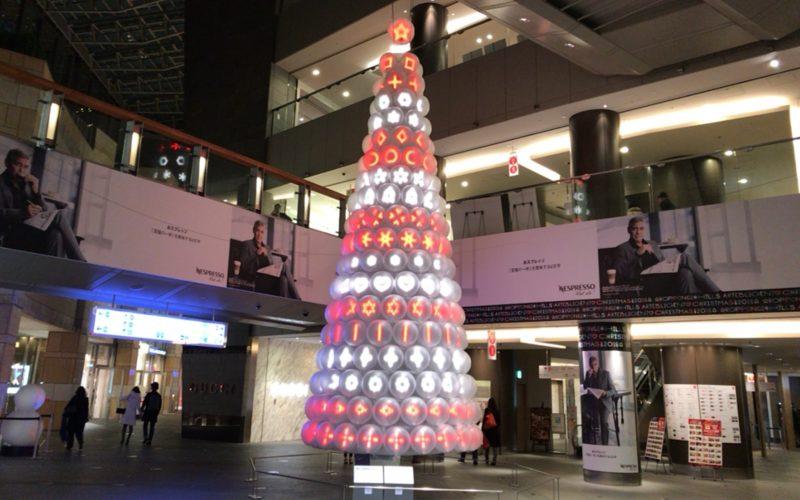 六本木ヒルズ アーテリジェントクリスマス2016のウェストウォーク イルミネーション