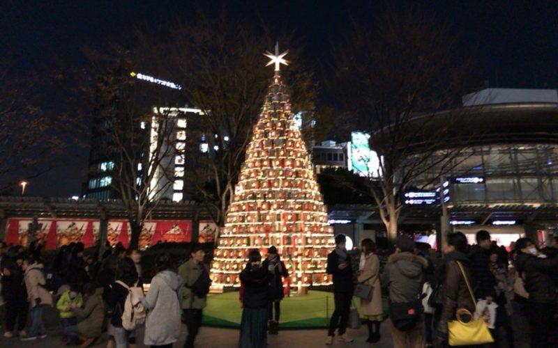 六本木ヒルズ アーテリジェントクリスマスの66プラザイルミネーション