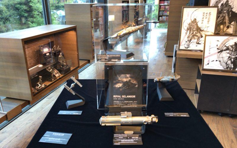 STAR WARS 40th Anniversary in DAIKANYAMA TSUTAYABOOKS内にあったロイヤルセランゴール社のコーナー