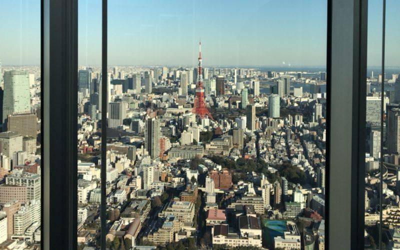 六本木ヒルズの展望台 東京シティビューから見える景色