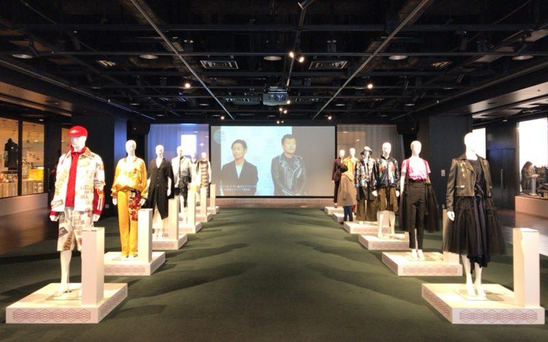 渋谷ヒカリエ8FのCOURTで開催したアマゾンファッションウィークトーキョーの会場内