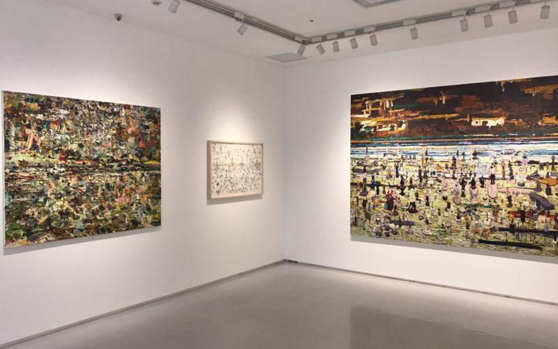 渋谷ヒカリエ8Fの小山登美夫ギャラリーで開催した「桑久保徹 2001-2014」の展示作品