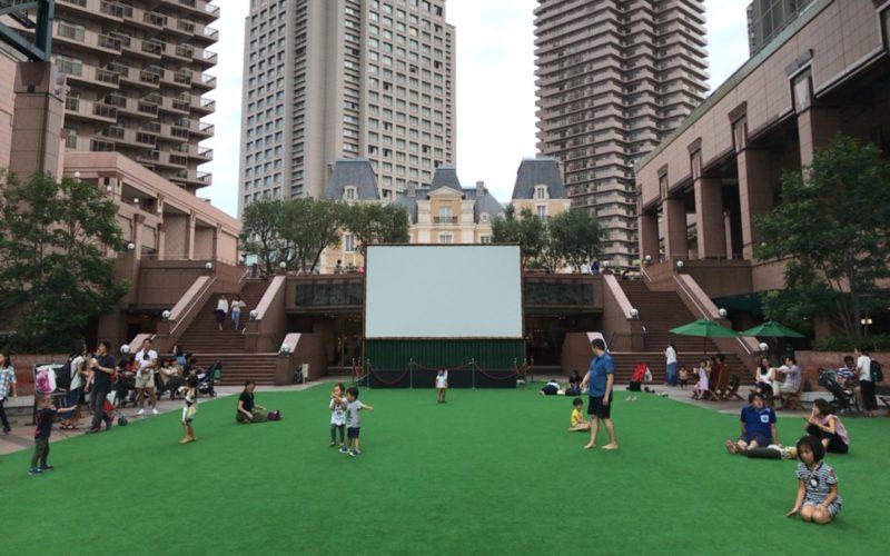 恵比寿ガーデンプレイスのセンター広場で開催された恵比寿ガーデンピクニック2017の会場