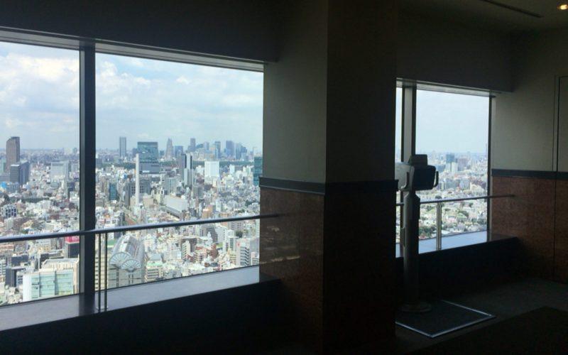 恵比寿ガーデンプレイスタワー トップオブヱビス39Fからの景色