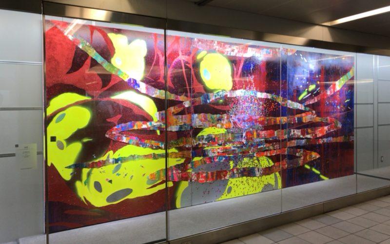 行幸地下ギャラリーで開催したアートアワードトーキョー 丸の内の展示作品