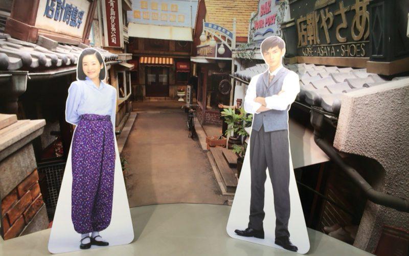 連続テレビ小説「べっぴんさん」展のフォトスポット