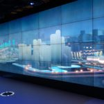 東急プラザ銀座1~3Fのメトアギンザで開催した「Energy-Sharing City つながる、シェアする、都市のエネルギー」の会場内