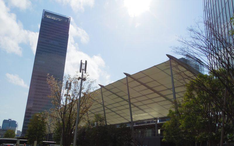 東京駅八重洲口のグランルーフ
