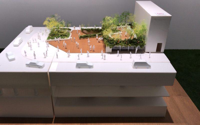 It's a Sony展 Part-2に展示されていた銀座ソニーパークの模型
