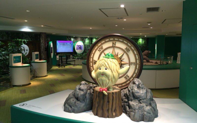 NHKスタジオパークにあるネイチャーカメラマンのコーナー