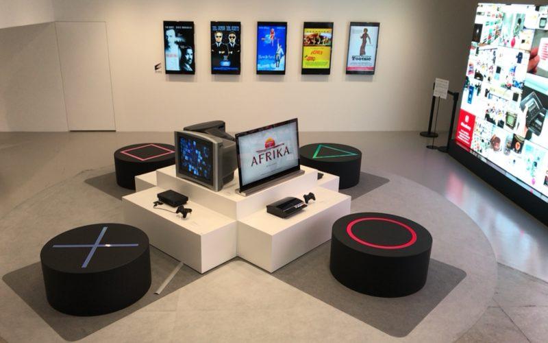 銀座ソニービルで開催したIt's a Sony展のプレイステーションコーナー