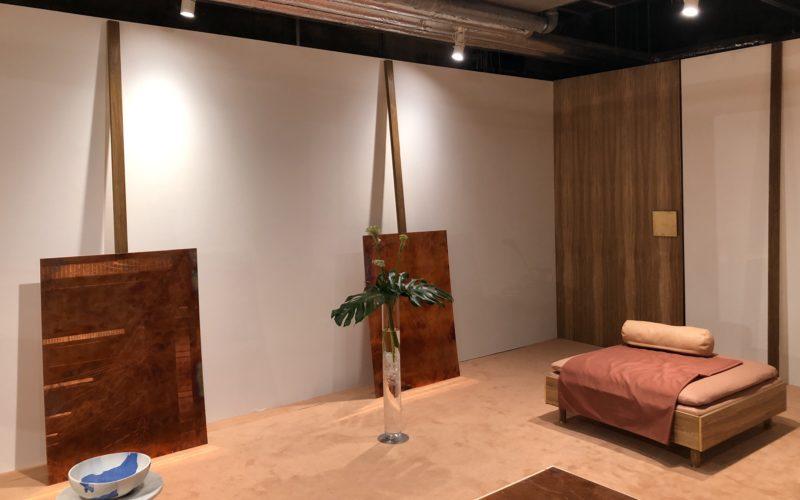 銀座ソニーパークB2Fのイベントスペースで開催した「The Waiting room」の会場内