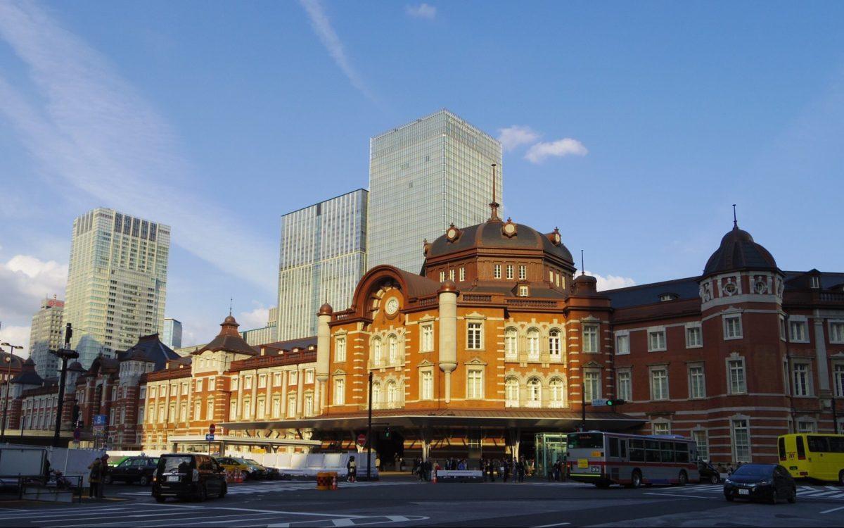 東京駅丸の内南口の駅舎