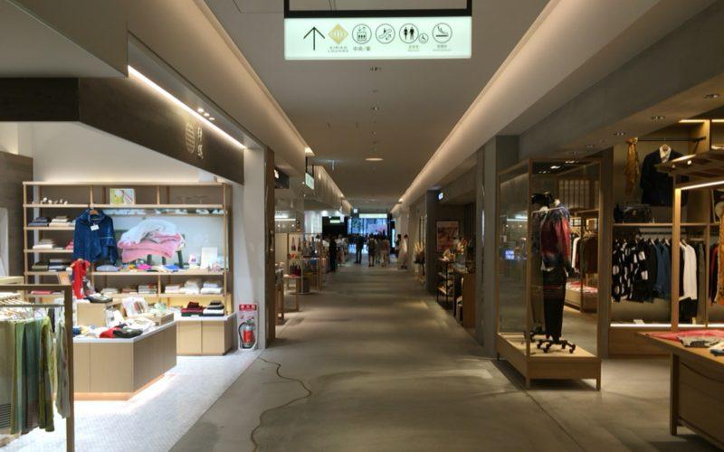 東急プラザ銀座6Fのファインドジャパンマーケットのフロア