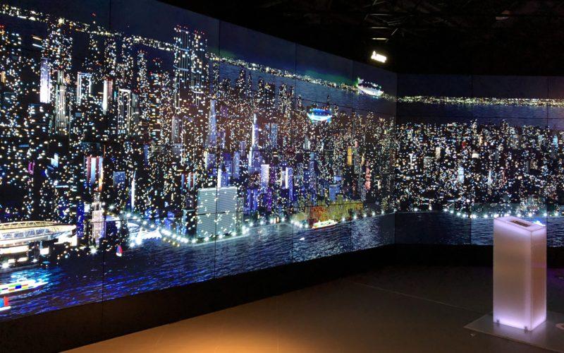 東急プラザ銀座で開催した「あたりまえのウラガワ展」の会場内