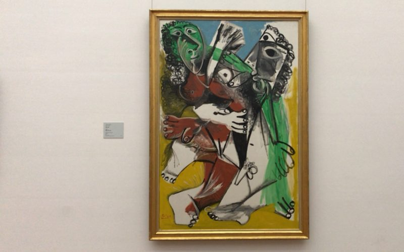 国立西洋美術館の常設展に展示しているパブロ・ピカソの男と女