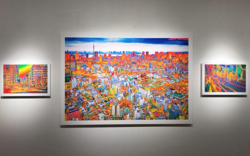 ソニーイメージングギャラリーで開催した吉田裕之 作品展 イデア eye of the heartの展示作品