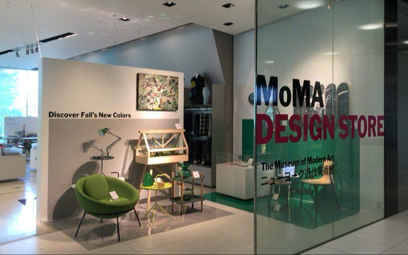 ジャイル3FにあるMoMAデザインストア 表参道店