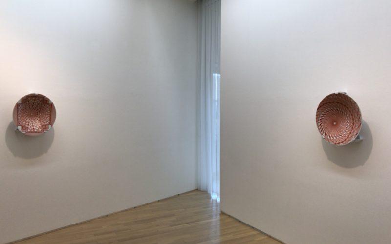 Japanese Kogei Future Forward 工芸未来派に展示していた見附正康さんによる九谷焼